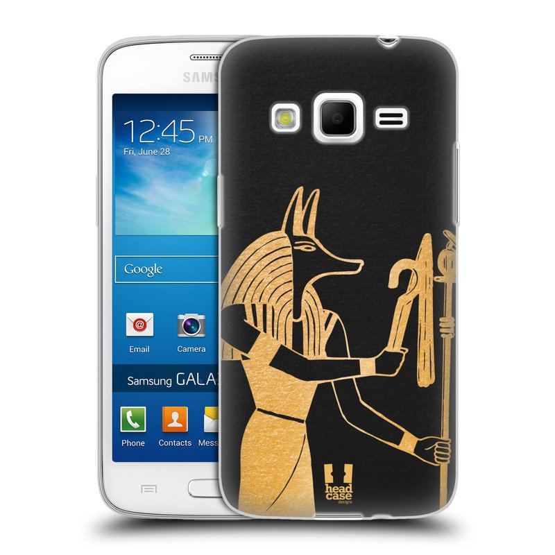 Silikonové pouzdro na mobil Samsung Galaxy Express 2 HEAD CASE EGYPT ANUBIS (Silikonový kryt či obal na mobilní telefon Samsung Galaxy Express 2 SM-G3815)