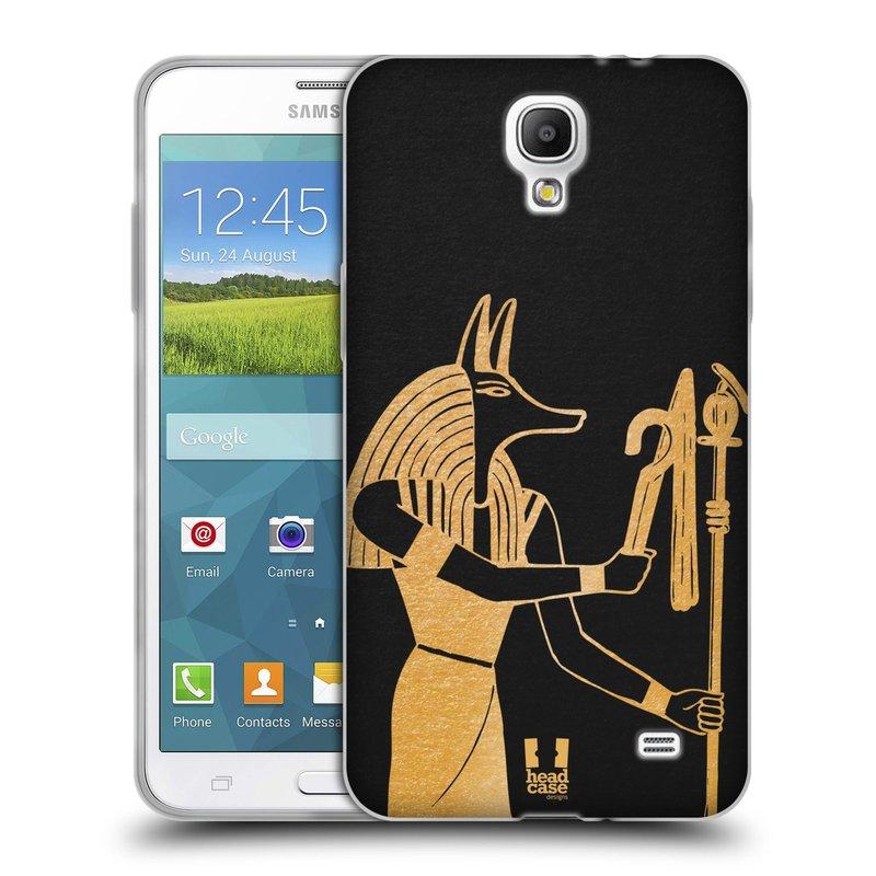 Silikonové pouzdro na mobil Samsung Galaxy Grand Mega 2 HEAD CASE EGYPT ANUBIS (Silikonový kryt či obal na mobilní telefon Samsung Galaxy Grand Mega 2 SM-G750)