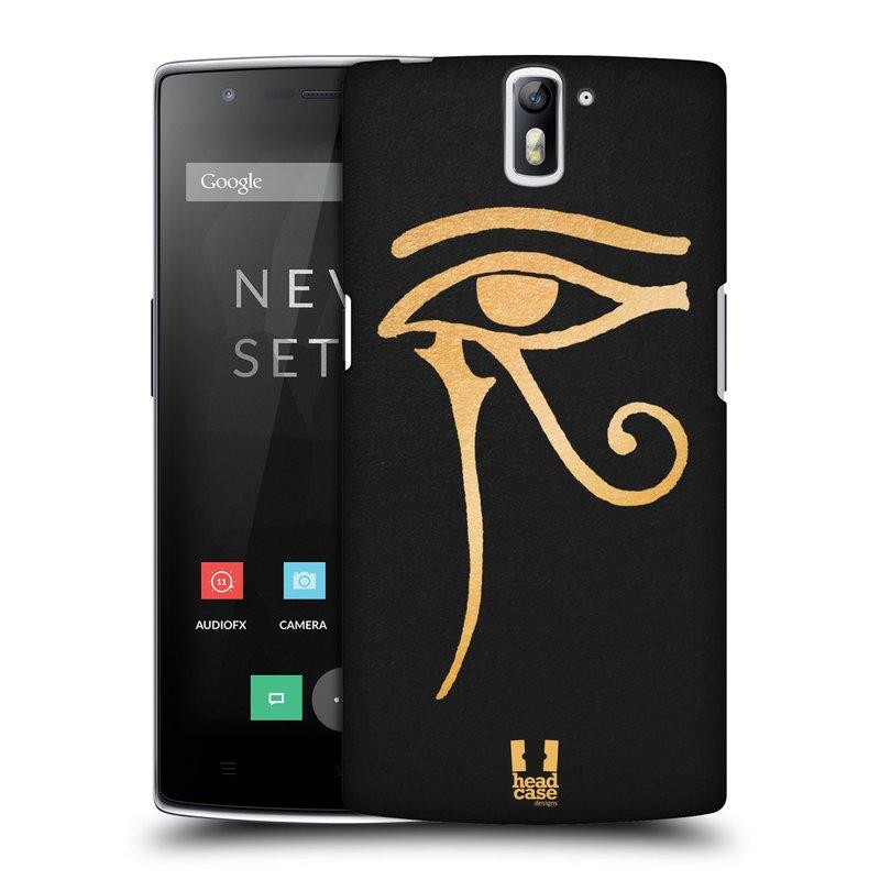 Plastové pouzdro na mobil OnePlus One HEAD CASE EGYPT OKO BOHA RA (Kryt či obal na mobilní telefon OnePlus One)