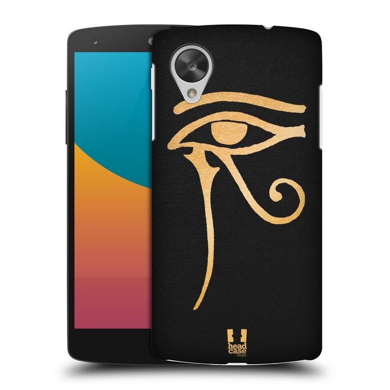 Plastové pouzdro na mobil LG Nexus 5 HEAD CASE EGYPT OKO BOHA RA (Kryt či obal na mobilní telefon LG Google Nexus 5 D821)
