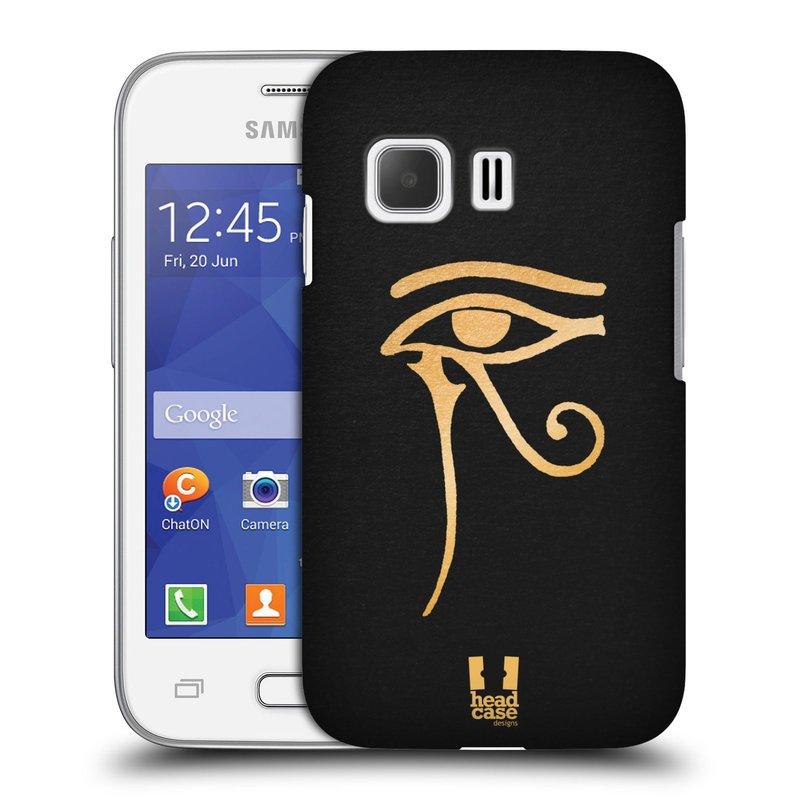 Plastové pouzdro na mobil Samsung Galaxy Young 2 HEAD CASE EGYPT OKO BOHA RA (Kryt či obal na mobilní telefon Samsung Galaxy Young 2 SM-G130)