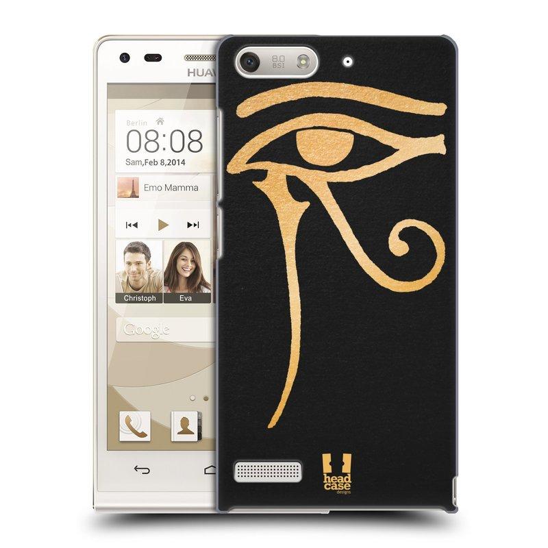 Plastové pouzdro na mobil Huawei Ascend G6 HEAD CASE EGYPT OKO BOHA RA (Kryt či obal na mobilní telefon Huawei Ascend G6 bez LTE)