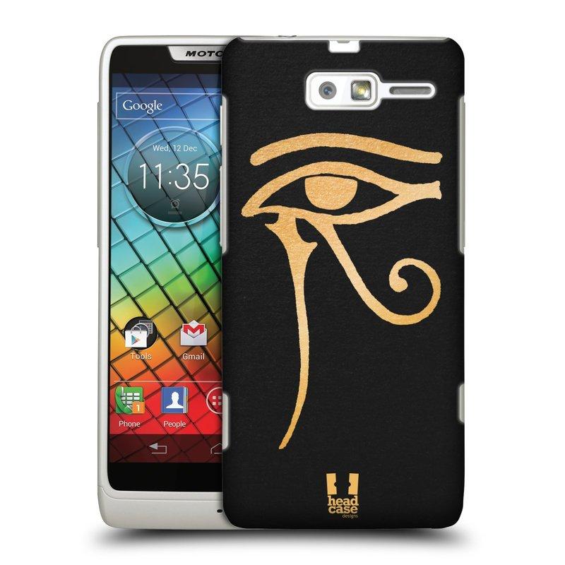 Plastové pouzdro na mobil Motorola Razr i XT890 HEAD CASE EGYPT OKO BOHA RA (Kryt či obal na mobilní telefon Motorola Razr i XT890)