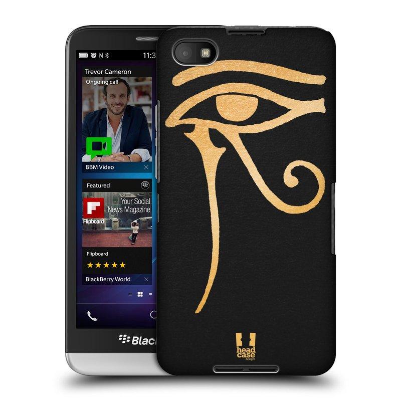 Plastové pouzdro na mobil Blackberry Z30 HEAD CASE EGYPT OKO BOHA RA (Kryt či obal na mobilní telefon Blackberry Z30)