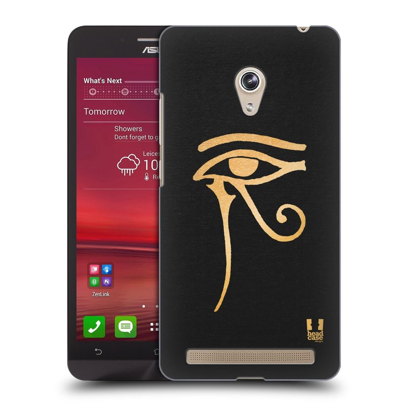Plastové pouzdro na mobil Asus Zenfone 6 HEAD CASE EGYPT OKO BOHA RA (Kryt či obal na mobilní telefon Asus Zenfone 6 A600CG / A601CG)