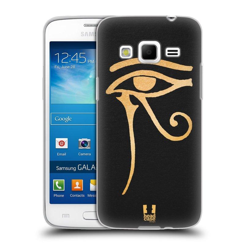 Silikonové pouzdro na mobil Samsung Galaxy Express 2 HEAD CASE EGYPT OKO BOHA RA (Silikonový kryt či obal na mobilní telefon Samsung Galaxy Express 2 SM-G3815)