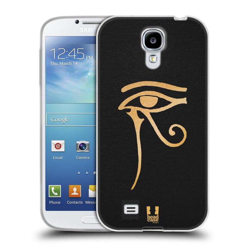 Silikonové pouzdro na mobil Samsung Galaxy S4 HEAD CASE EGYPT OKO BOHA RA (Silikonový kryt či obal na mobilní telefon Samsung Galaxy S4 GT-i9505 / i9500)