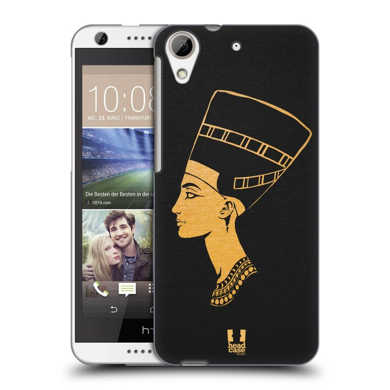 Plastové pouzdro na mobil HTC Desire 626 / 626G HEAD CASE EGYPT NEFERTITI (Kryt či obal na mobilní telefon HTC Desire 626G Dual SIM a HTC Desire 626)