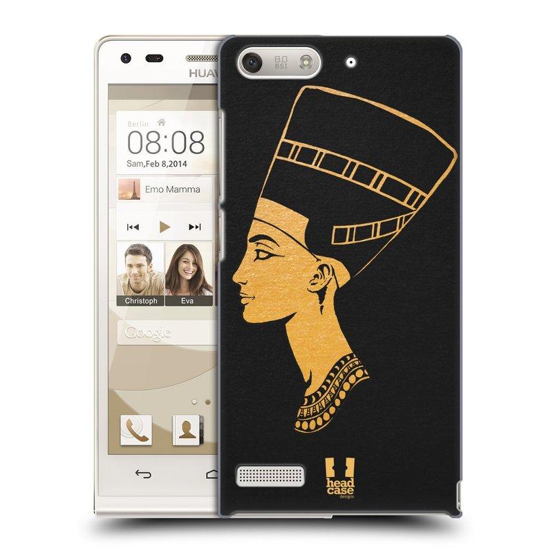 Plastové pouzdro na mobil Huawei Ascend G6 HEAD CASE EGYPT NEFERTITI (Kryt či obal na mobilní telefon Huawei Ascend G6 bez LTE)