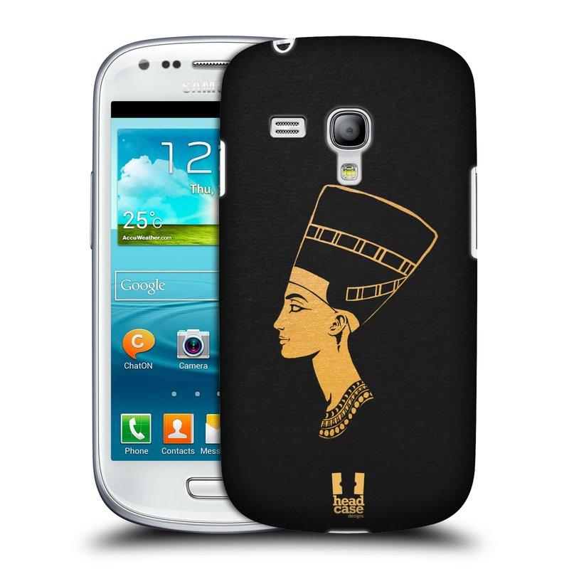 Plastové pouzdro na mobil Samsung Galaxy S III Mini HEAD CASE EGYPT NEFERTITI (Kryt či obal na mobilní telefon Samsung Galaxy S III Mini GT-i8190)