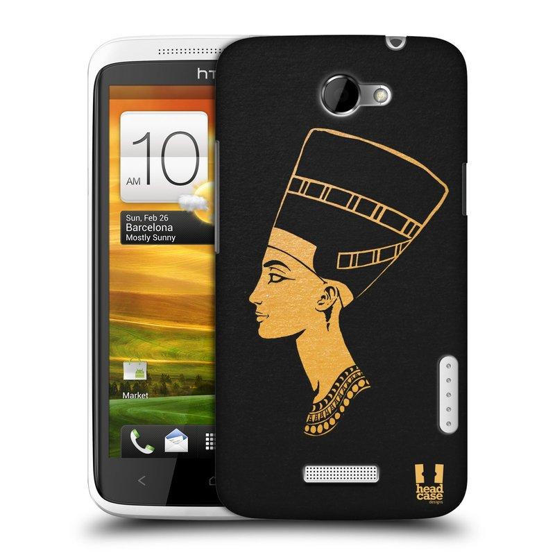 Plastové pouzdro na mobil HTC ONE X HEAD CASE EGYPT NEFERTITI (Kryt či obal na mobilní telefon HTC ONE X)