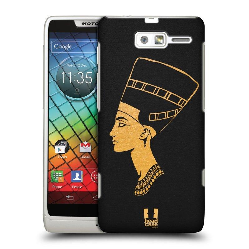Plastové pouzdro na mobil Motorola Razr i XT890 HEAD CASE EGYPT NEFERTITI (Kryt či obal na mobilní telefon Motorola Razr i XT890)