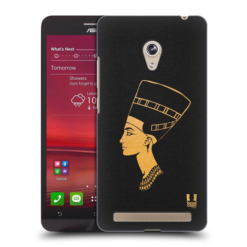 Plastové pouzdro na mobil Asus Zenfone 6 HEAD CASE EGYPT NEFERTITI (Kryt či obal na mobilní telefon Asus Zenfone 6 A600CG / A601CG)