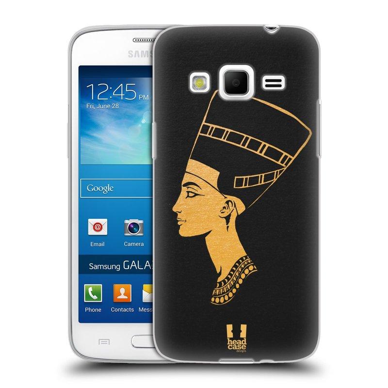 Silikonové pouzdro na mobil Samsung Galaxy Express 2 HEAD CASE EGYPT NEFERTITI (Silikonový kryt či obal na mobilní telefon Samsung Galaxy Express 2 SM-G3815)