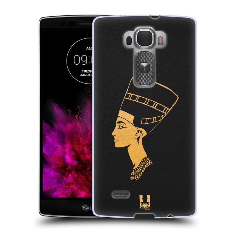 Silikonové pouzdro na mobil LG G Flex 2 HEAD CASE EGYPT NEFERTITI (Silikonový kryt či obal na mobilní telefon LG G Flex 2 H955)