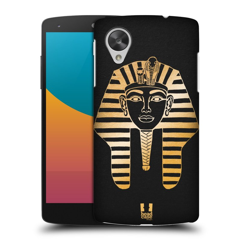Plastové pouzdro na mobil LG Nexus 5 HEAD CASE EGYPT FARAON (Kryt či obal na mobilní telefon LG Google Nexus 5 D821)