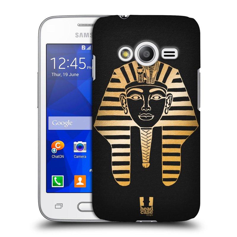 Plastové pouzdro na mobil Samsung Galaxy Trend 2 Lite HEAD CASE EGYPT FARAON (Kryt či obal na mobilní telefon Samsung Galaxy Trend 2 Lite SM-G318)