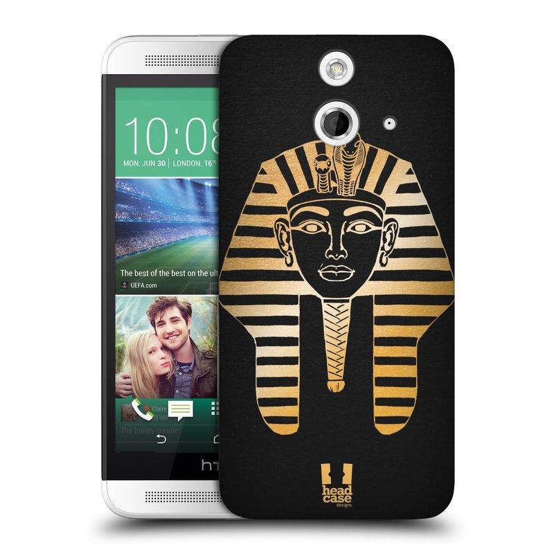 Plastové pouzdro na mobil HTC ONE E8 HEAD CASE EGYPT FARAON (Kryt či obal na mobilní telefon HTC ONE E8)