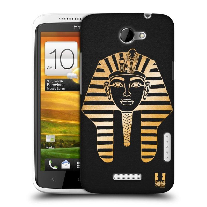 Plastové pouzdro na mobil HTC ONE X HEAD CASE EGYPT FARAON (Kryt či obal na mobilní telefon HTC ONE X)