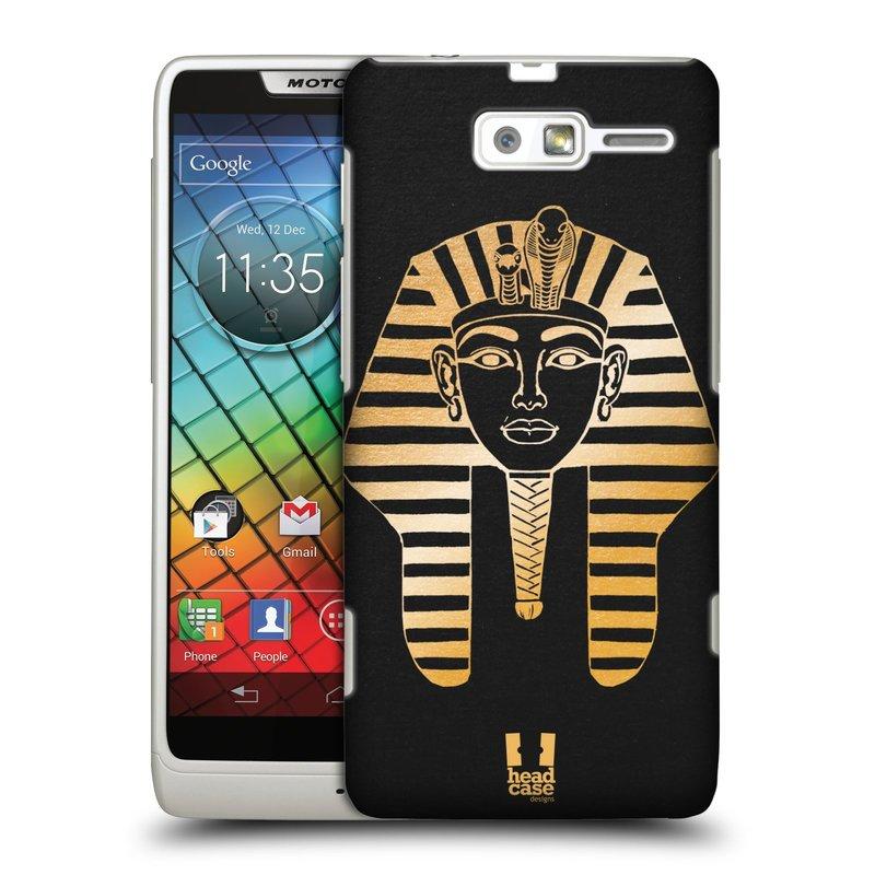 Plastové pouzdro na mobil Motorola Razr i XT890 HEAD CASE EGYPT FARAON (Kryt či obal na mobilní telefon Motorola Razr i XT890)