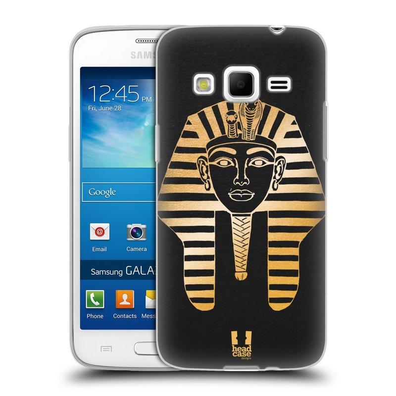 Silikonové pouzdro na mobil Samsung Galaxy Express 2 HEAD CASE EGYPT FARAON (Silikonový kryt či obal na mobilní telefon Samsung Galaxy Express 2 SM-G3815)