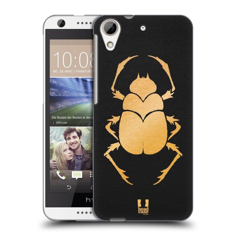 Plastové pouzdro na mobil HTC Desire 626 / 626G HEAD CASE EGYPT SCARABEUS (Kryt či obal na mobilní telefon HTC Desire 626G Dual SIM a HTC Desire 626)