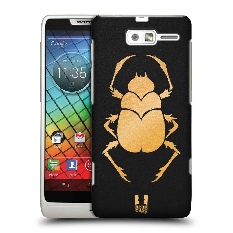 Plastové pouzdro na mobil Motorola Razr i XT890 HEAD CASE EGYPT SCARABEUS (Kryt či obal na mobilní telefon Motorola Razr i XT890)