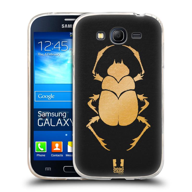Silikonové pouzdro na mobil Samsung Galaxy Grand Neo HEAD CASE EGYPT SCARABEUS (Silikonový kryt či obal na mobilní telefon Samsung Galaxy Grand Neo GT-I9060)