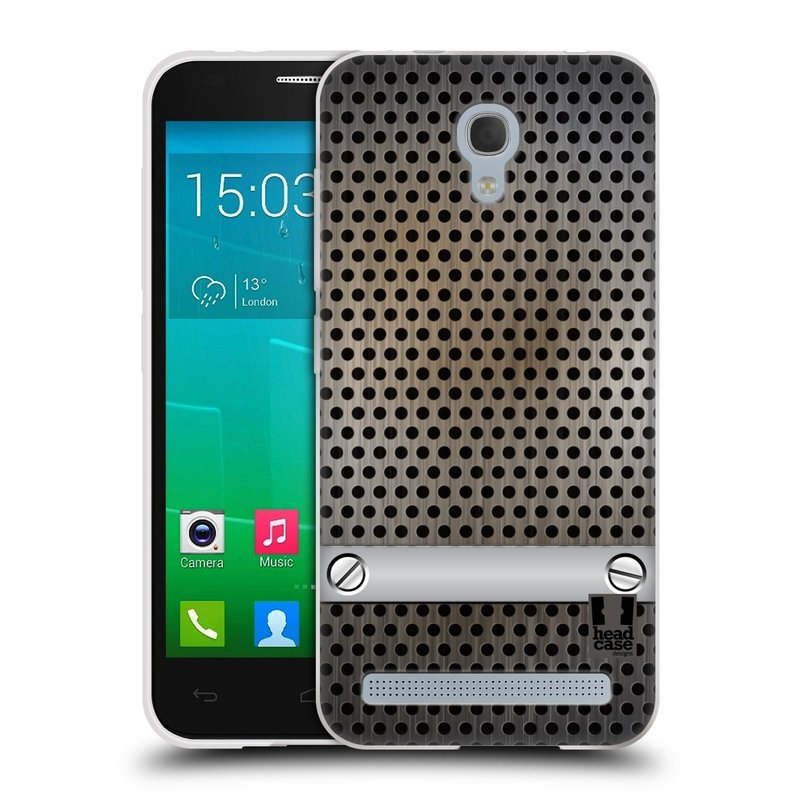 Silikonové pouzdro na mobil Alcatel One Touch Idol 2 Mini S 6036Y HEAD CASE INDUSTRIAL SHEET (Silikonový kryt či obal na mobilní telefon Alcatel Idol 2 Mini S OT-6036Y)