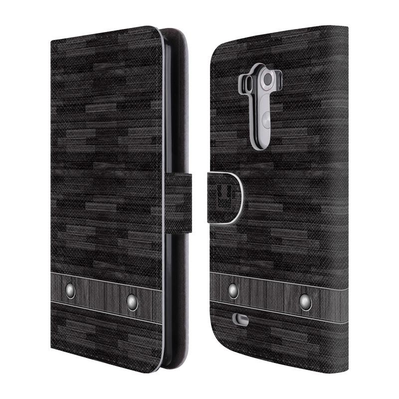 Flipové pouzdro na mobil LG G3 HEAD CASE Industrial Wood (Flipový vyklápěcí kryt či obal z umělé kůže na mobilní telefon LG G3 D855)