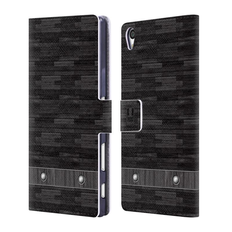 Flipové pouzdro na mobil Sony Xperia Z5 Premium HEAD CASE Industrial Wood (Flipový vyklápěcí kryt či obal z umělé kůže na mobilní telefon Sony Xperia Z5 Premium)