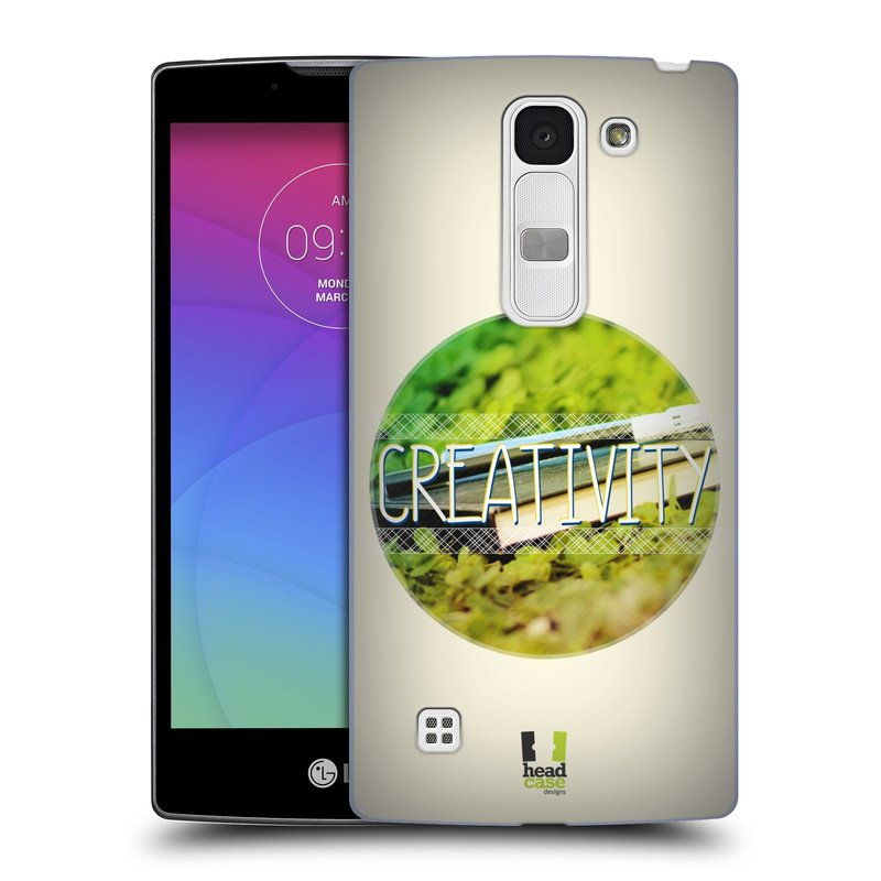 Plastové pouzdro na mobil LG Spirit LTE HEAD CASE INSPIRACE V KRUHU KREATIVITA (Kryt či obal na mobilní telefon LG Spirit H420 a LG Spirit LTE H440N)