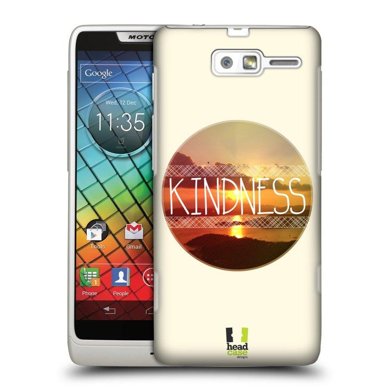 Plastové pouzdro na mobil Motorola Razr i XT890 HEAD CASE INSPIRACE V KRUHU LASKAVOST (Kryt či obal na mobilní telefon Motorola Razr i XT890)