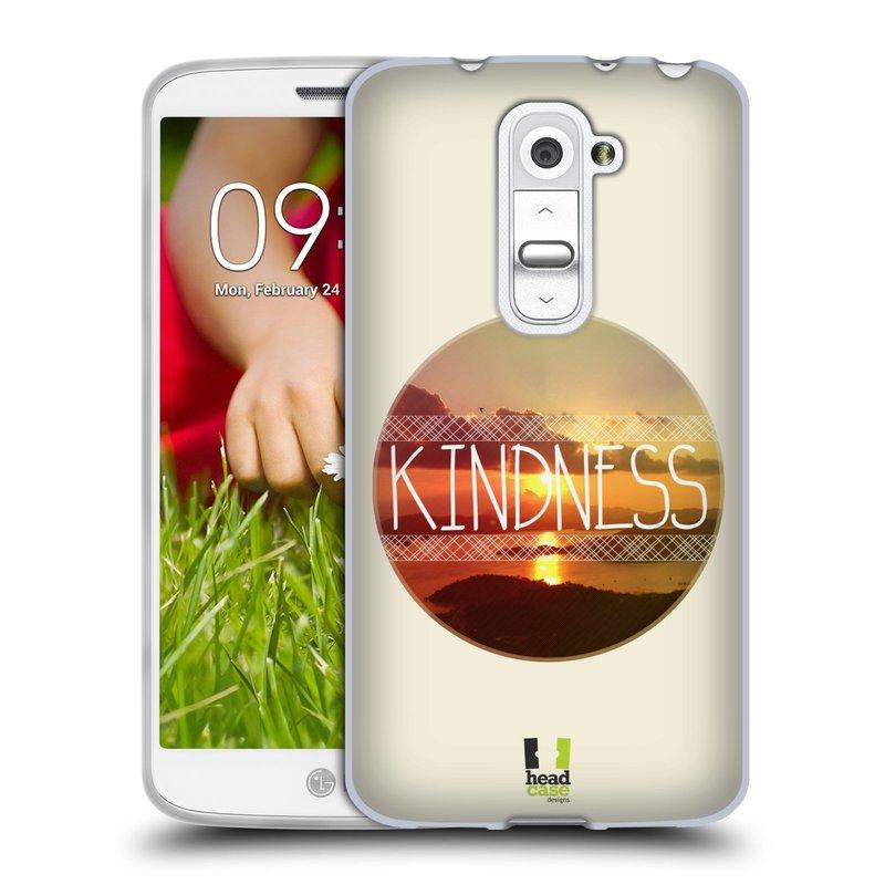 Silikonové pouzdro na mobil LG G2 Mini HEAD CASE INSPIRACE V KRUHU LASKAVOST (Silikonový kryt či obal na mobilní telefon LG G2 Mini D620)