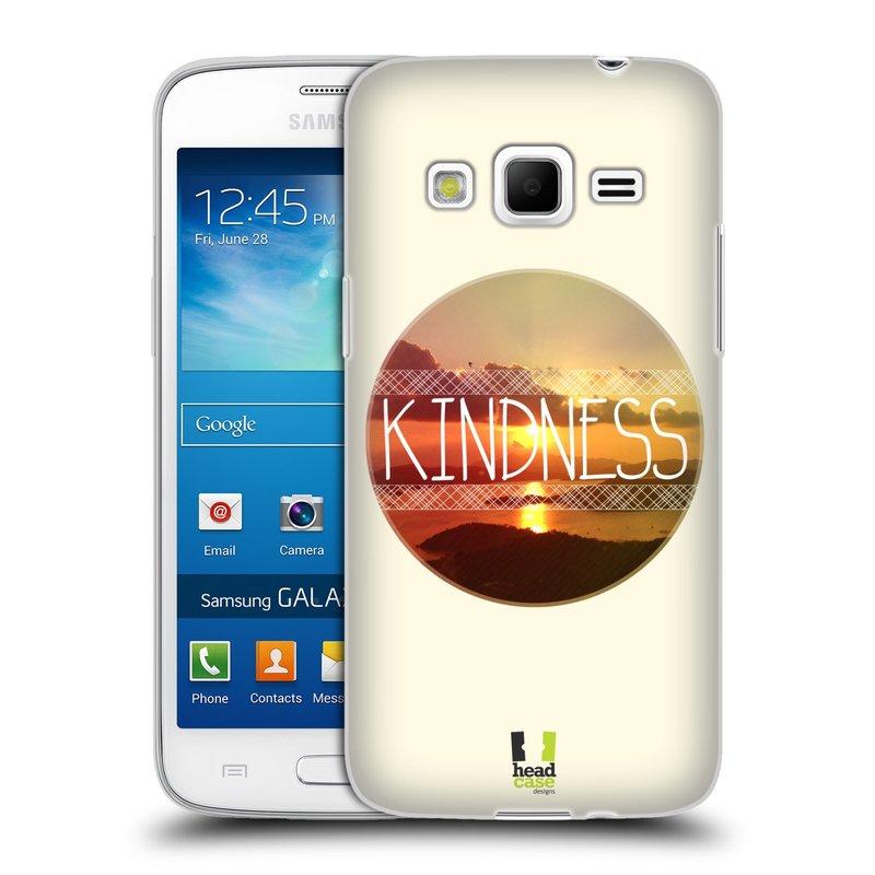 Silikonové pouzdro na mobil Samsung Galaxy Express 2 HEAD CASE INSPIRACE V KRUHU LASKAVOST (Silikonový kryt či obal na mobilní telefon Samsung Galaxy Express 2 SM-G3815)