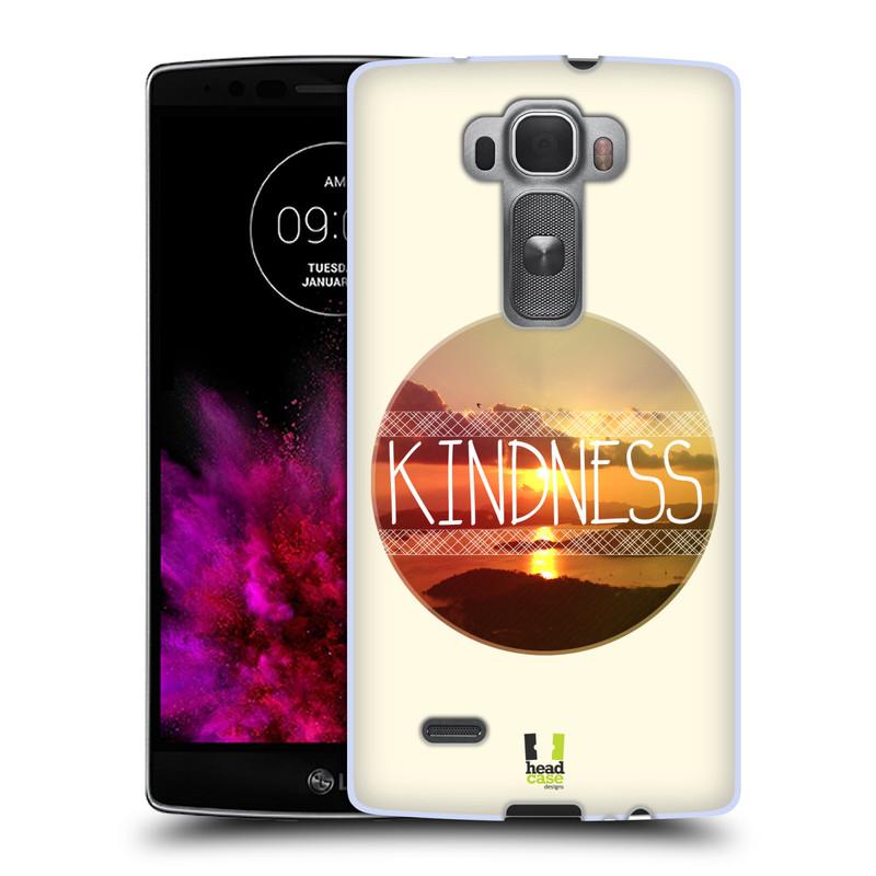 Silikonové pouzdro na mobil LG G Flex 2 HEAD CASE INSPIRACE V KRUHU LASKAVOST (Silikonový kryt či obal na mobilní telefon LG G Flex 2 H955)