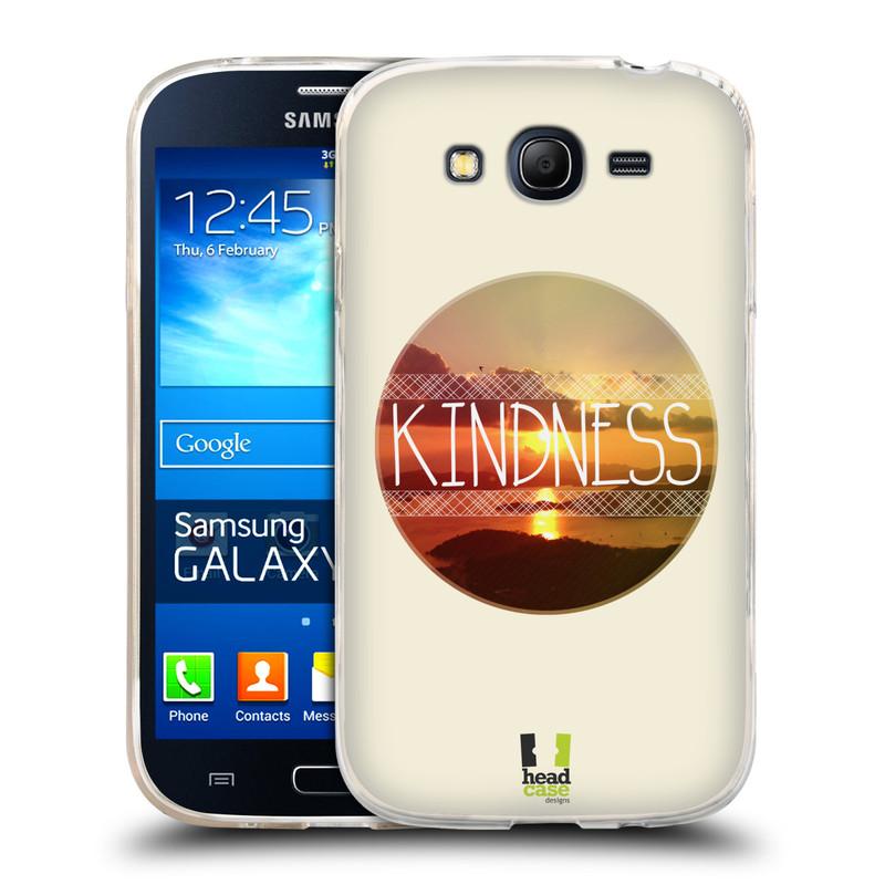 Silikonové pouzdro na mobil Samsung Galaxy Grand Neo HEAD CASE INSPIRACE V KRUHU LASKAVOST (Silikonový kryt či obal na mobilní telefon Samsung Galaxy Grand Neo GT-I9060)