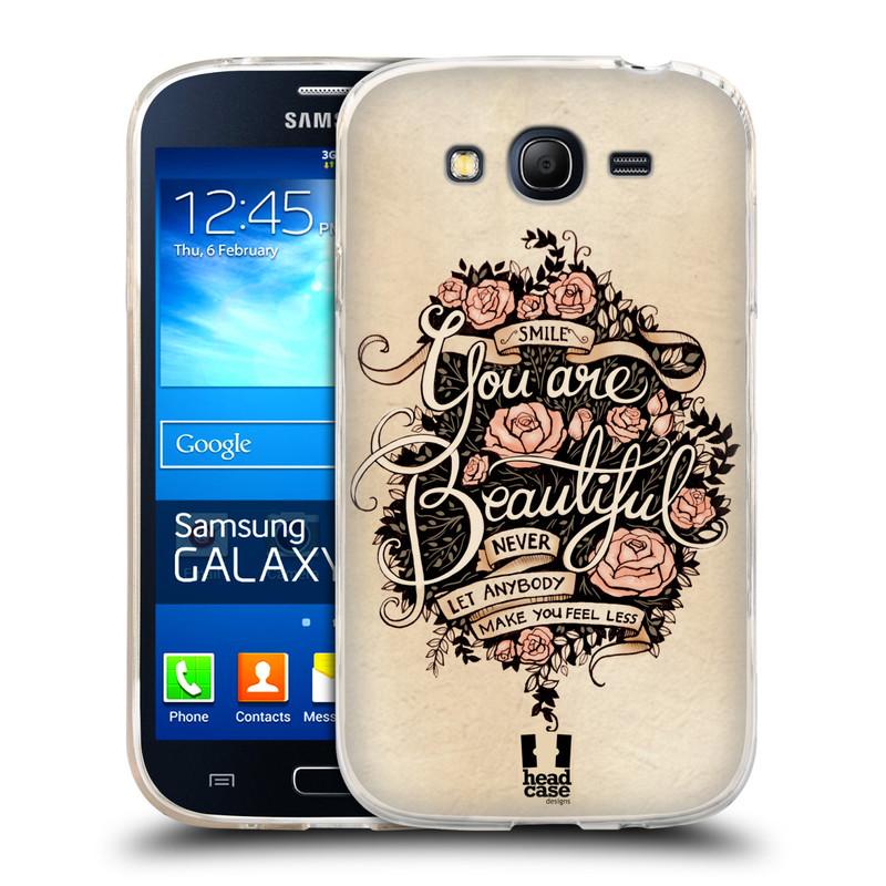 Silikonové pouzdro na mobil Samsung Galaxy Grand Neo Plus HEAD CASE BEAUTIFUL (Silikonový kryt či obal na mobilní telefon Samsung Galaxy Grand Neo Plus Duos GT-I9060i)