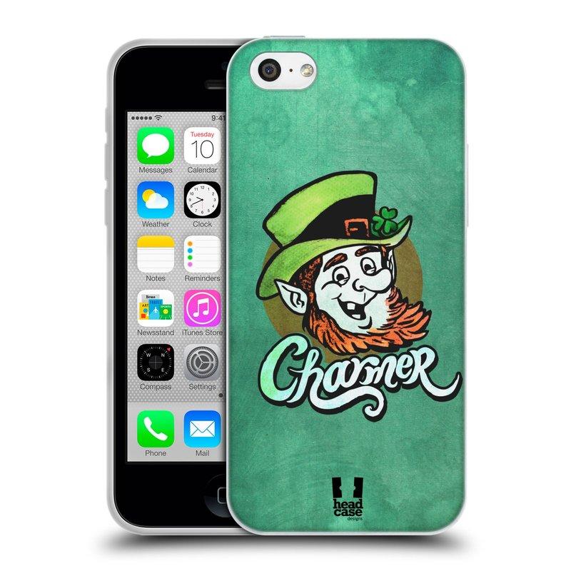 Silikonové pouzdro na mobil Apple iPhone 5C HEAD CASE CHARMER (Silikonový kryt či obal na mobilní telefon Apple iPhone 5C)