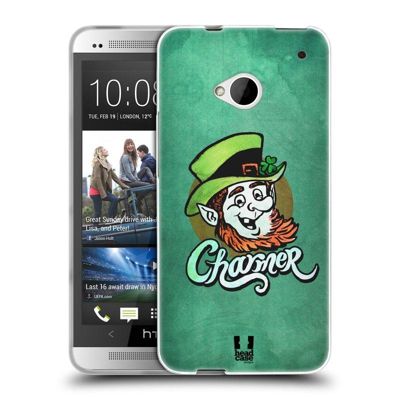 Silikonové pouzdro na mobil HTC ONE M7 HEAD CASE CHARMER (Silikonový kryt či obal na mobilní telefon HTC ONE M7)