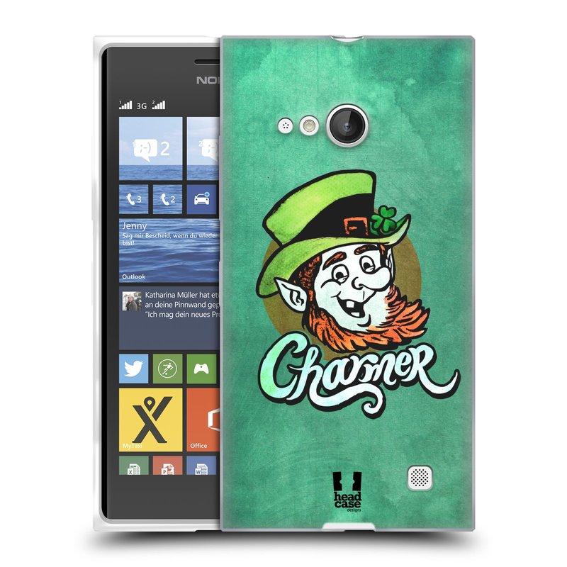 Silikonové pouzdro na mobil Nokia Lumia 735 HEAD CASE CHARMER (Silikonový kryt či obal na mobilní telefon Nokia Lumia 735)