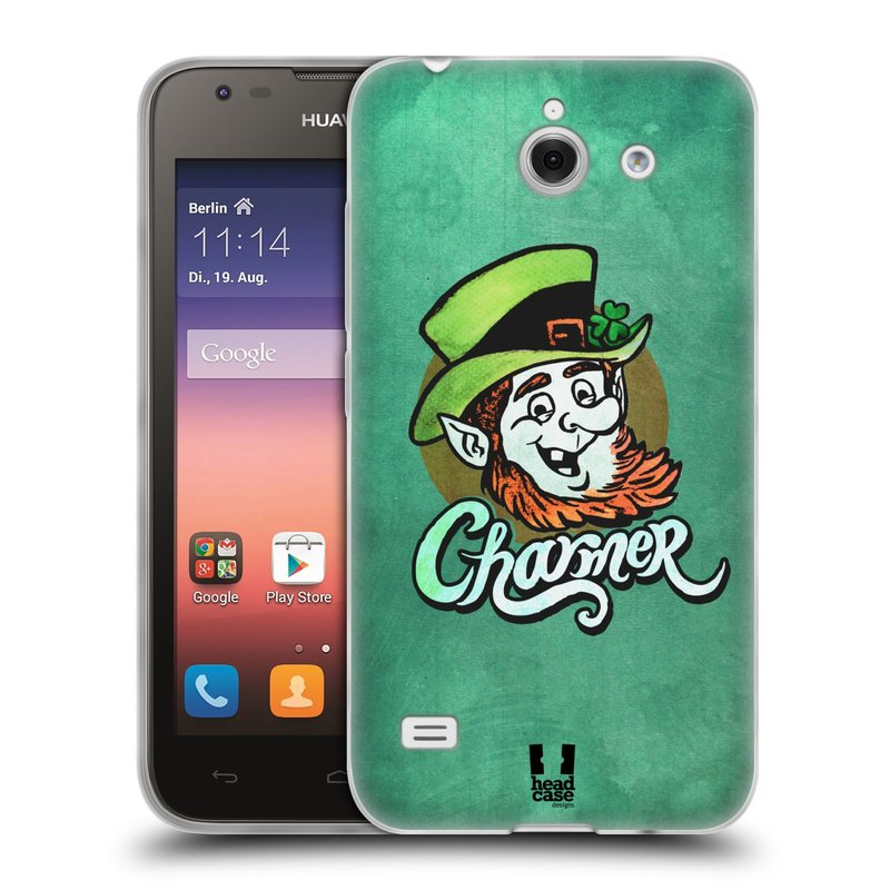 Silikonové pouzdro na mobil Huawei Ascend Y550 HEAD CASE CHARMER (Silikonový kryt či obal na mobilní telefon Huawei Ascend Y550)