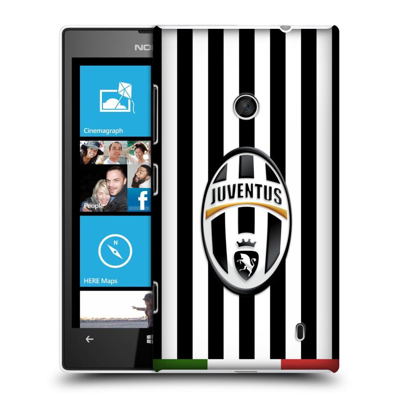 Plastové pouzdro na mobil Nokia Lumia 520 HEAD CASE Juventus FC - Italian Stripes