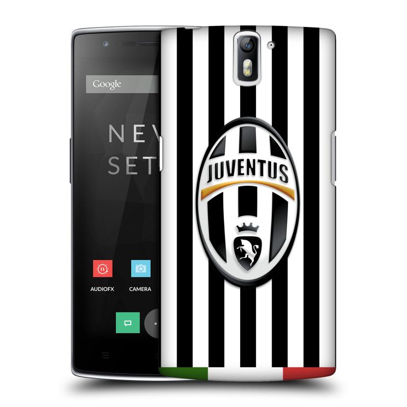 Plastové pouzdro na mobil OnePlus One HEAD CASE Juventus FC - Italian Stripes