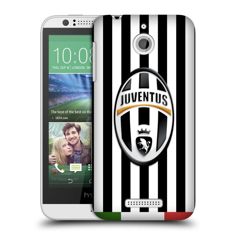 Plastové pouzdro na mobil HTC Desire 510 HEAD CASE Juventus FC - Italian Stripes
