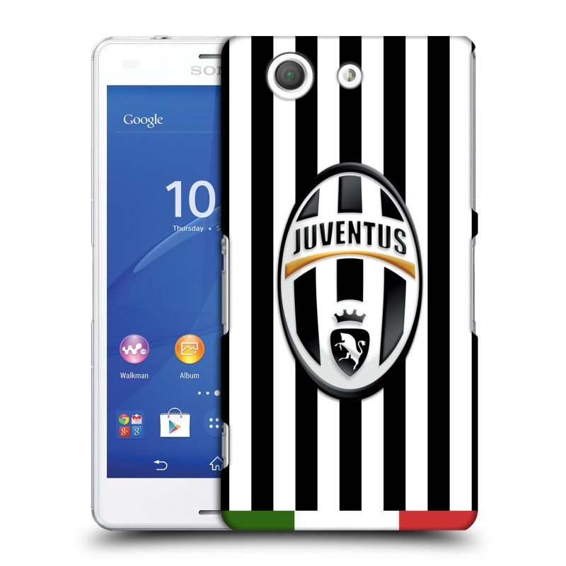Plastové pouzdro na mobil Sony Xperia Z3 Compact D5803 HEAD CASE Juventus FC - Italian Stripes