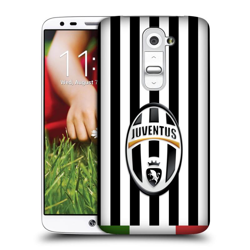 Plastové pouzdro na mobil LG G2 HEAD CASE Juventus FC - Italian Stripes