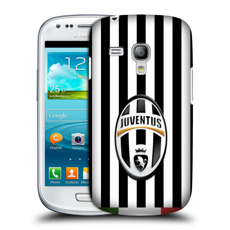 Silikonové pouzdro na mobil Samsung Galaxy S III Mini VE HEAD CASE Juventus FC - Italian Stripes (Plastový kryt či obal na mobilní telefon Juventus FC Official pro Samsung Galaxy S3 Mini VE GT-i8200)