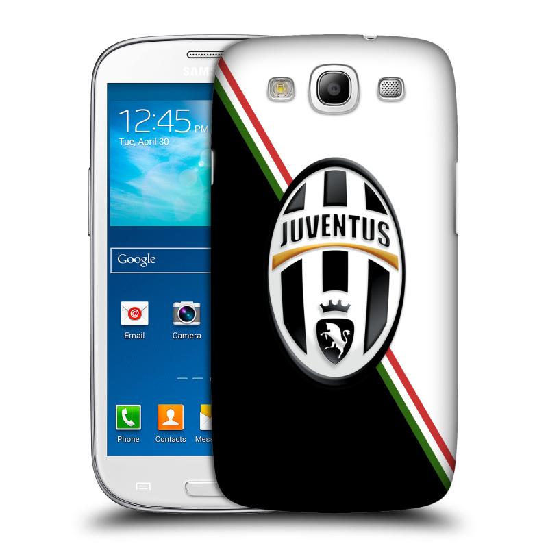 Plastové pouzdro na mobil Samsung Galaxy S3 Neo HEAD CASE Juventus FC - Black and White (Plastový kryt či obal na mobilní telefon Juventus FC Official pro Samsung Galaxy S3 Neo GT-i9301i)