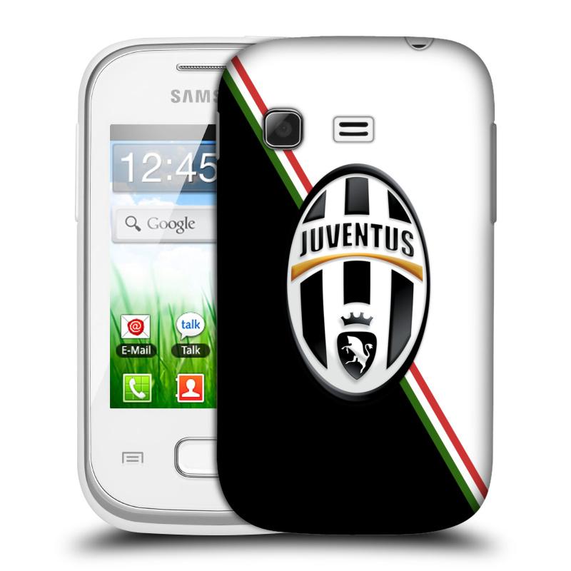 Plastové pouzdro na mobil Samsung Galaxy Pocket HEAD CASE Juventus FC - Black and White (Plastový kryt či obal na mobilní telefon Juventus FC Official pro Samsung Galaxy Pocket GT-S5300)